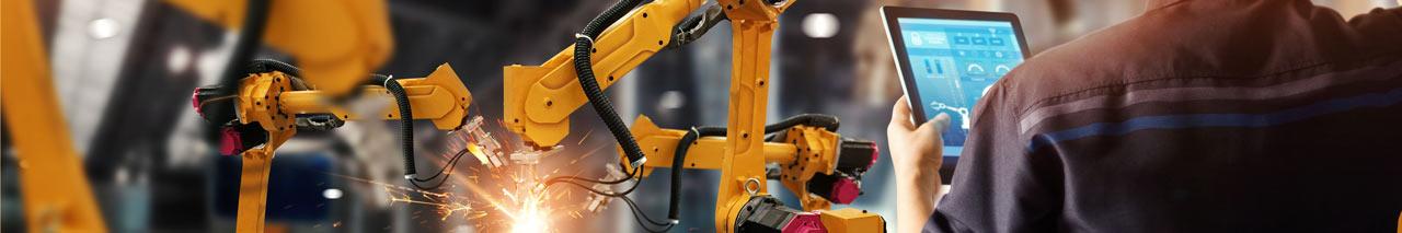 Mantenimiento de robots industriales